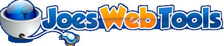 Joe's Web Tools - Webmaster tools and resources