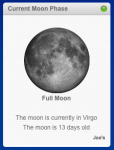 Moon Phases - Widget