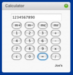 Calculator - Widget